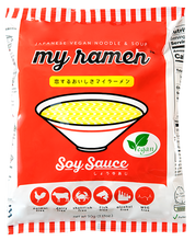 30 Pack MyRamen Soy Sauce Flavor 100% Natural MSG Free Instant Ramen - SOLD OUT