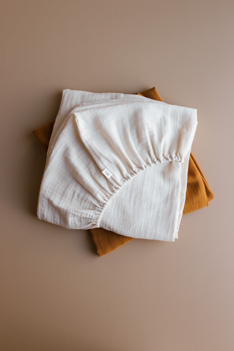 fitted sheet - natural