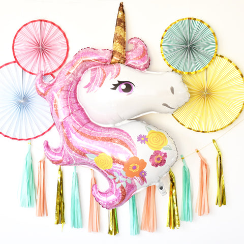 Unicorn party pack | rainbow party | party decorations