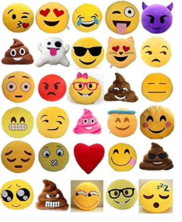 EMOJI PILLOWS & ACCESSORIES