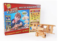 DIY Deluxe Foam Wood Construction Tool Workshop Kit Play Set Toys