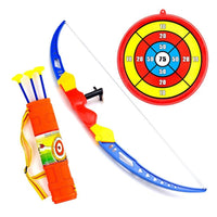 Archery Bow And Arrow Toy Set With Target Board Sports Dart Playset