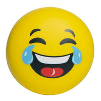 LAUGH & CRY EMOJI SPLAT BALL (STRESS BALL, SQUEEZE BALL)
