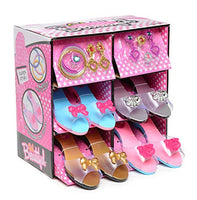 12Pcs Princess Dress Up Role Play Shoe Jewelry Boutique Set Fashion