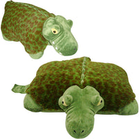 "LARGE ALLIGATOR PET PILLOW 18"" inches, My Friendly Plush Alli Toy"