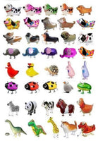 GIFT DEPOT® TM SET/LOT OF 250 WALKING ANIMAL BALLOON PETS AIRWALKER FOIL HELIUM