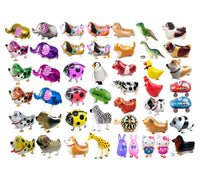 GIFT DEPOT® TM SET/LOT OF 500 WALKING ANIMAL BALLOON PETS AIRWALKER FOIL HELIUM