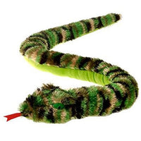 Fiesta Camouflage Shaggy Snake Plush 62'' Inches Tie Dye My Bean Bag Pet Pillow