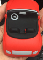 RED CAR SQUISHY TOY