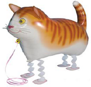 CAT WALKING BALLOON ANIMAL