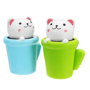 CAT IN THE CUP SQUISHY TOY