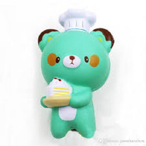 CHEF PASTRY BEAR SQUISHY TOY