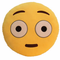"DAZE EMOTICON PLUSH PILLOW, 12"" INCHES"