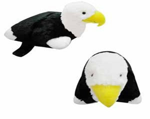 "LARGE EAGLE PET PILLOW 18"" inches, My Plush Cuddle Toy"