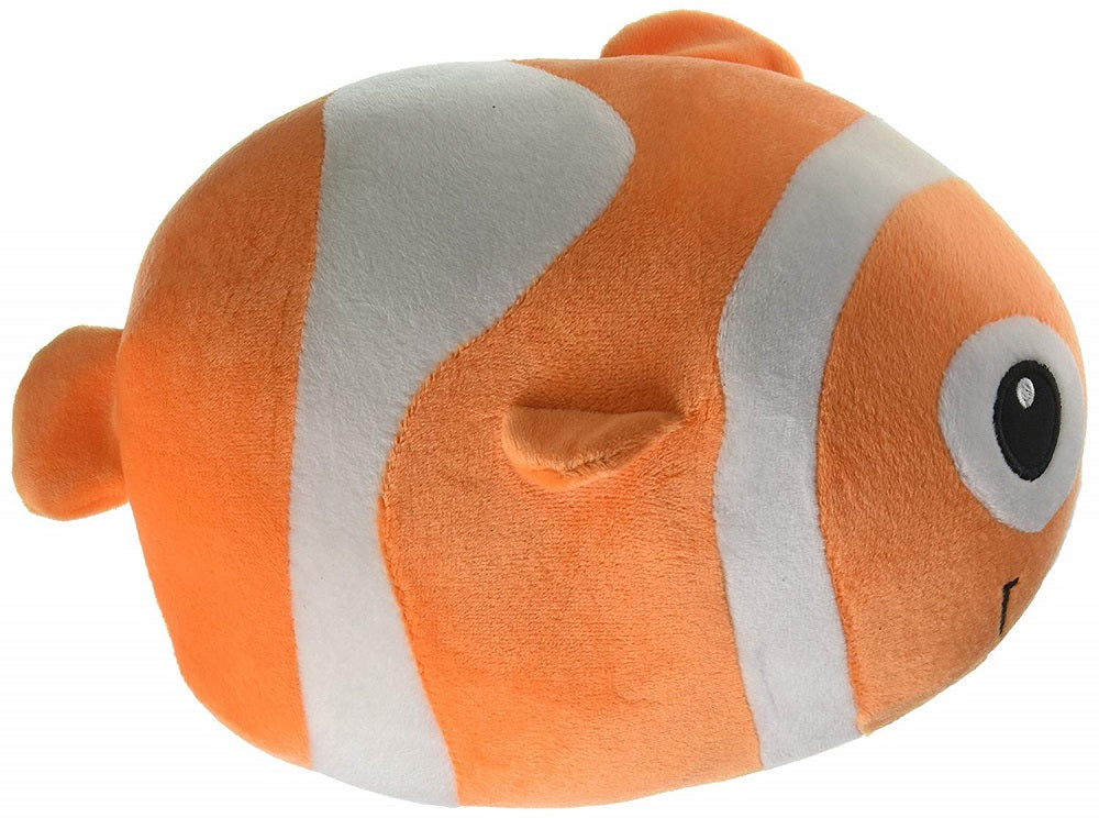 Fiesta Toys Lil Huggy Cora Clown Fish 8'' Inch Pet Pillow My Beanbag