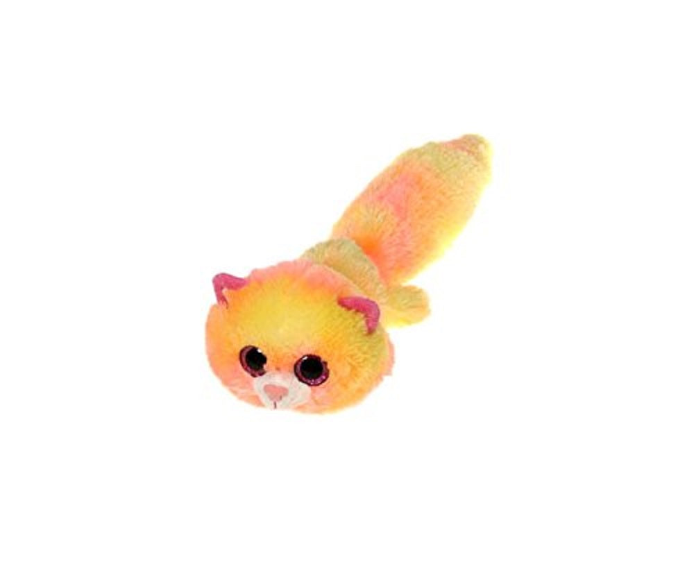 Fiesta Fursian Yellow Kitten Cat Sprinkles Plush 16'' Inches My Bean Bag Pet Pillow Toy