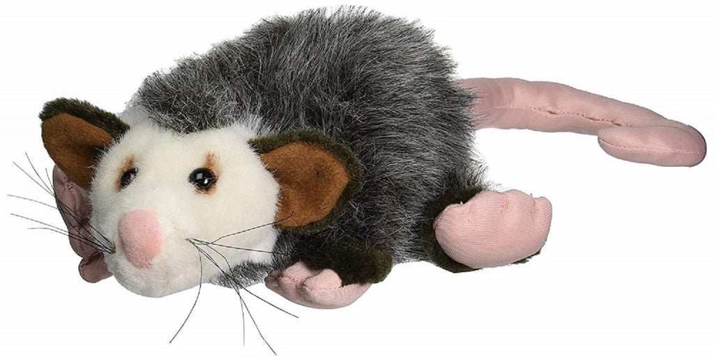 "Fiesta Toys Opossum Possum 10"" Inches My Plush Stuffed Pet Pillow"