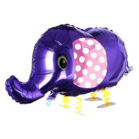 PURPLE ELEPHANT WALKING BALLOON ANIMAL