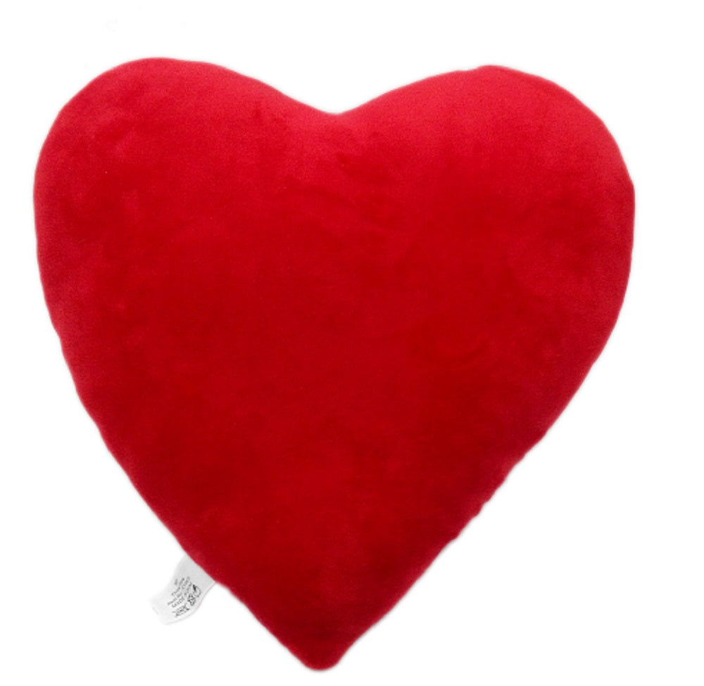 "RED HEART EMOJI PILLOW, 11"" INCHES"
