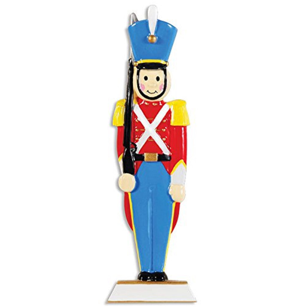 Toy Soldier Personalized Christmas Tree Ornament X-mass NEW Noel British Gift