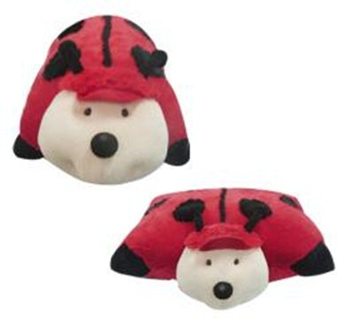 "LARGE LADYBUG PET PILLOW 18"" inches, My Red Lady Bug, Miss"