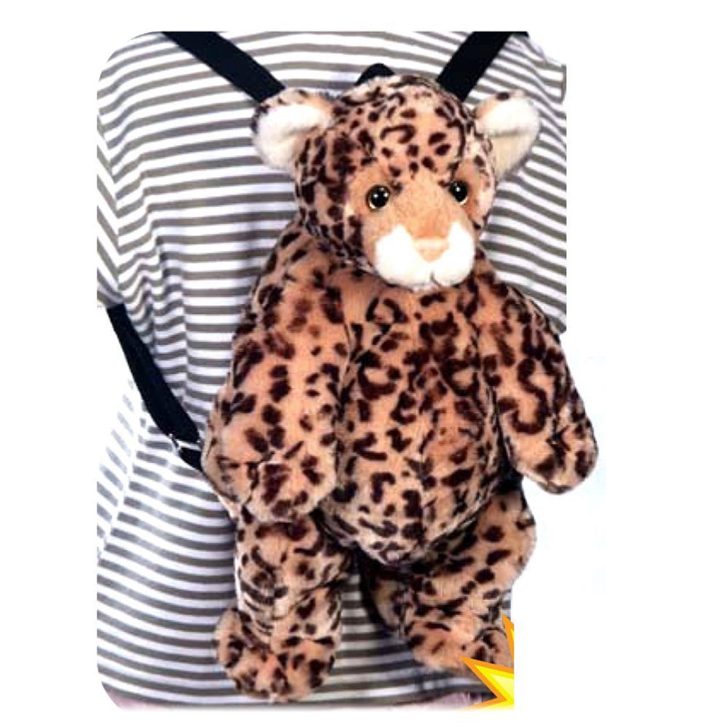 "LEOPARD BACKPACK 16""  FIESTA PLUSH TOYS"
