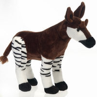 Fiesta Standing Okapi Stuffed Animal 16'' Inches My Safari Pet Pillow Toy