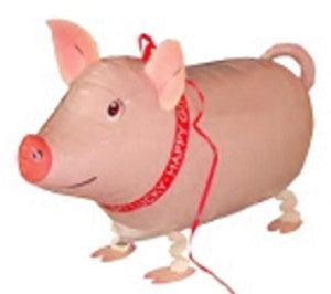 PIG WALKING BALLOON ANIMAL