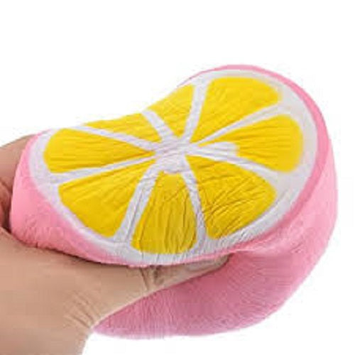 PINK LEMON SQUISHY TOY