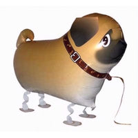 PUG DOG WALKING BALLOON ANIMAL