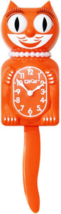 Kit Cat Klock Limited Edition Lady (Pumpkin Delight) LBC-43