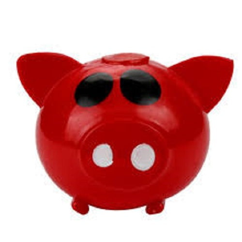 RED PIG SPLAT BALL (STRESS BALL, SQUEEZE BALL)