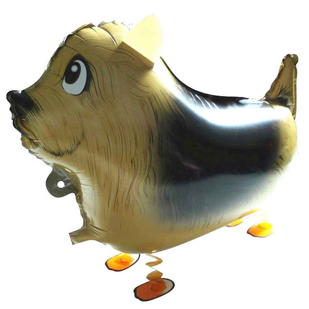 ENGLISH SHEPHERD DOG WALKING BALLOON ANIMAL