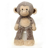 Fuzzy Folk Sitting Harold Bean Bag Monkey 16'' FIESTA PLUSH TOYS