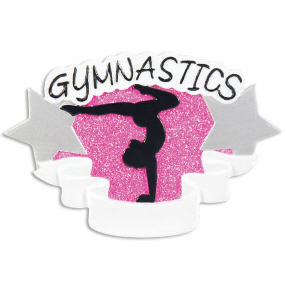 GYMNASTICS Fitness Sport Personalized Christmas Tree Ornament X-mass Hobbies