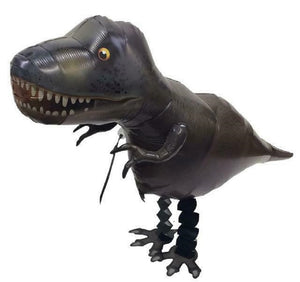 DARK GREEN T-REX DINO WALKING BALLOON DINOSAURS