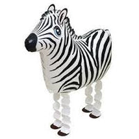 ZEBRA WALKING BALLOON ANIMAL