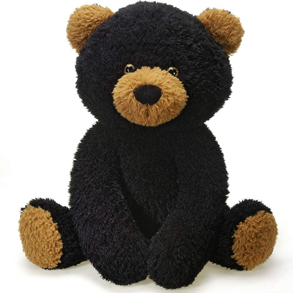 Fiesta Toys Jumbo Scruffy Black Bear 22'' Inches Stuffed Animal My Plush Pillow