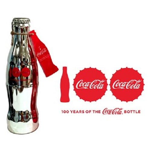 Celebrating 100 Years of the Coca-Cola Bottle Silver Plated 4th Edition Special