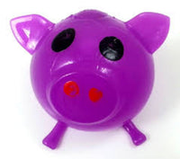 PURPLE PIG SPLAT BALL (STRESS BALL, SQUEEZE BALL)