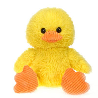 "Fiesta Toys Scruffy 9.5"" Inches Yellow Duck Stuffed Farm Animal My Plush Pillow"