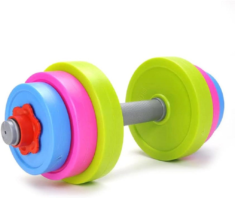 Adjustable Dumbbell Sports Toy Set for Kids Child Boys & Girls