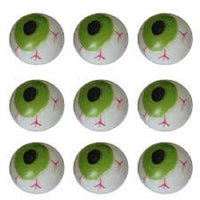 GREEN EYE SPLAT BALL (STRESS BALL, SQUEEZE BALL)