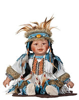 "Golden Keepsakes Heirloom Native American 24"" Princess Blossom Porcelain Doll"