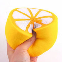 YELLOW LEMON SQUISHY TOY