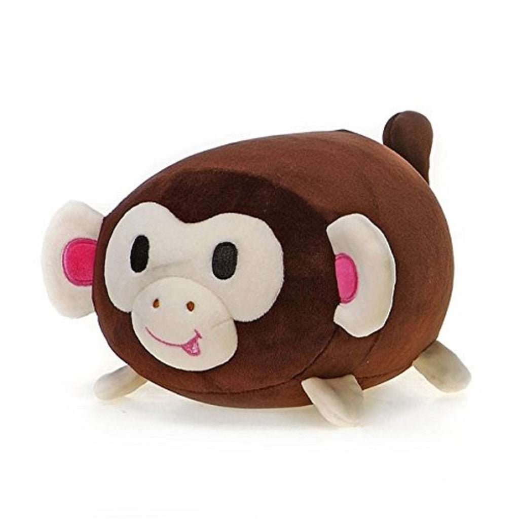 Fiesta Toys Lil Huggy Mona Monkey 8'' Inch Forest Zoo Pet Pillow My Beanbag
