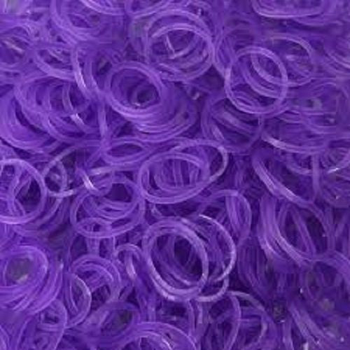 PURPLE 600 Pcs Bag DIY LOOM RUBBER BAND REFILLS