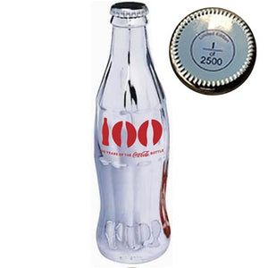 Celebrating 100 Years of the Coca-Cola Bottle Silver Plated 3rd Edition Special