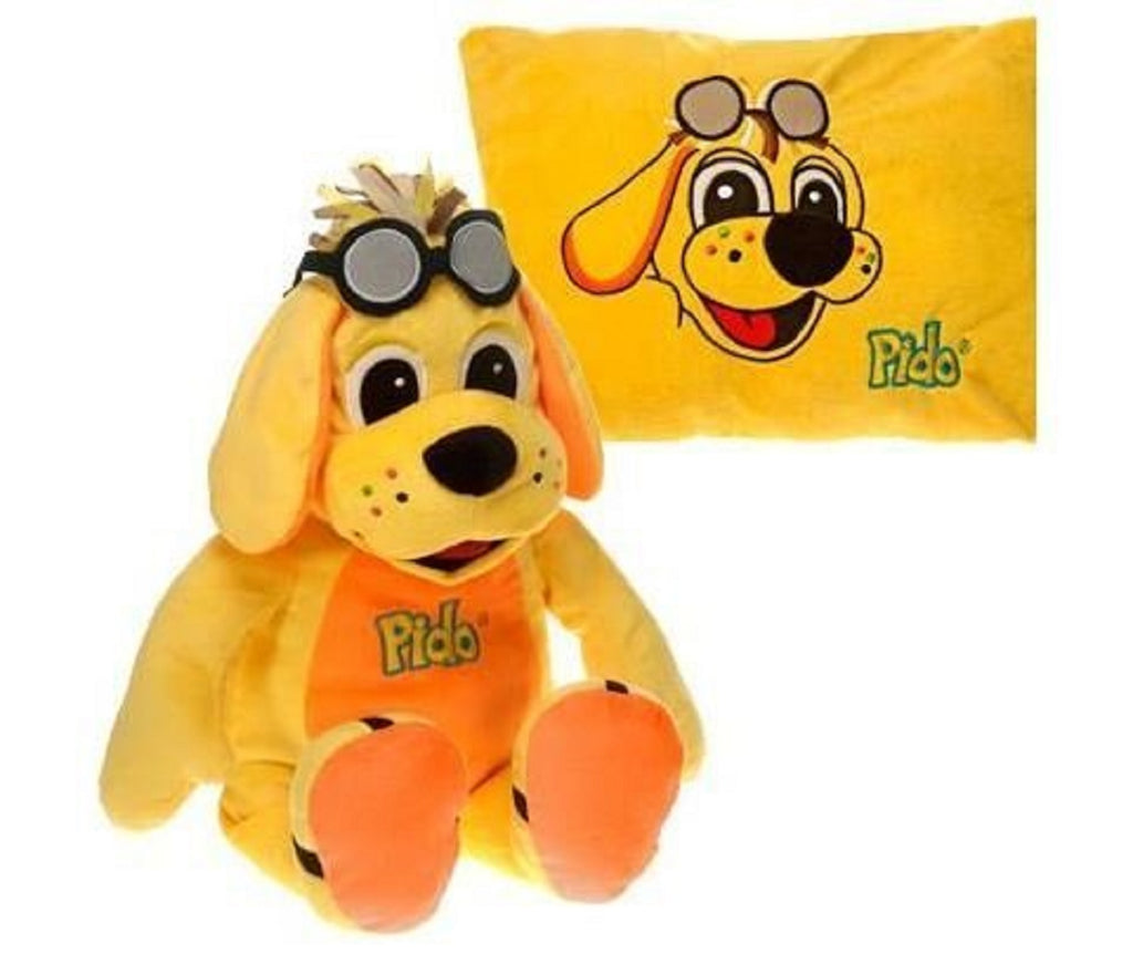 "RAGGS & FRIENDS PEEK A BOO DOG PIDO 19"" FIESTA PLUSH TOYS"