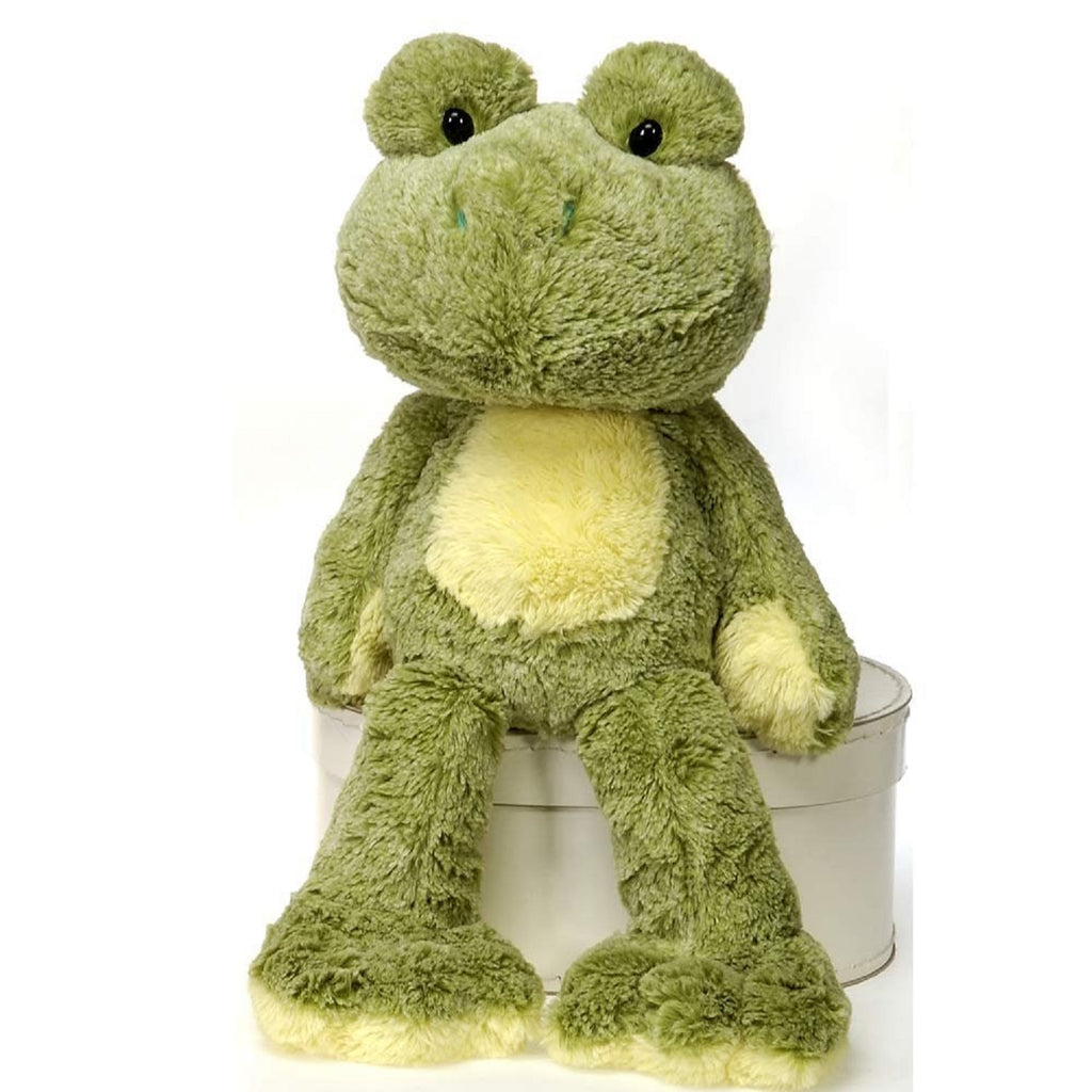 FUZZY FOLK SITTING IVY BEAN BAG FROG 16'' FIESTA PLUSH TOYS